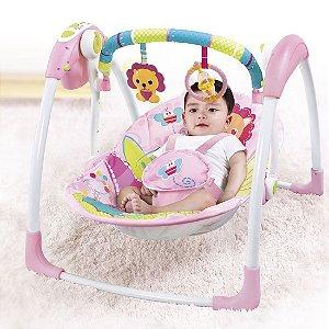 Cadeira Automática Com Timer Rosa Leão - Mastela