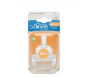 2 BICOS DE SILICONE OPTIONS BOCA LARGA FASE 3 - Dr Browns