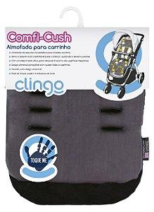 Colchão para Carrinho Comfi Cush Dove (Cinza/Prata) - Clingo