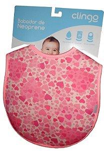 Babadores de Neoprene Hearts - Clingo