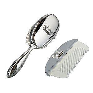 Conjunto de Pente e Escova Branco - Modali