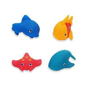 Brinquedo para Banho Animais Marinhos I - Dican