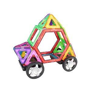 Brinquedo de Atividades Formas Magnéticas 46 peças - Dican