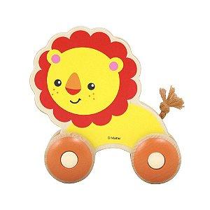 Brinquedo de Atividades Passeio Com Leão Madeira - Fisher Price