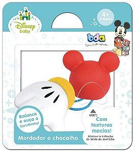 Brinquedo Disney Baby Mordedor e Chocalho - BDA