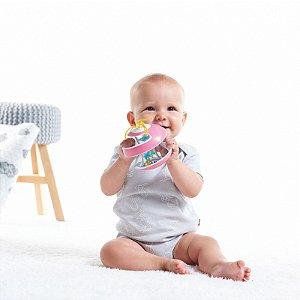 Brinquedo  Inspiral (rain stick) Pink - Tiny Love