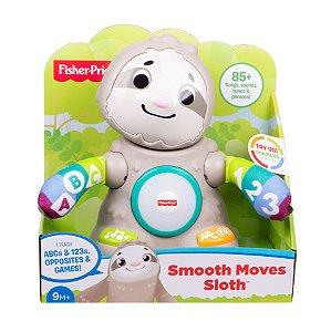 Brinquedo de Atividades Linkimals Bicho Preguiça ABC - Fisher-Price
