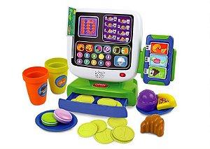 Brinquedo de Atividades Caixa Registradora Café Divertido - WinFun