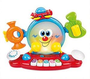 Brinquedo de Atividades Banda Musical 6 em 1 - Winfun