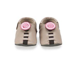 Sapatinho para Bebê Espiral Rose 0 a 24 meses - Shupeas