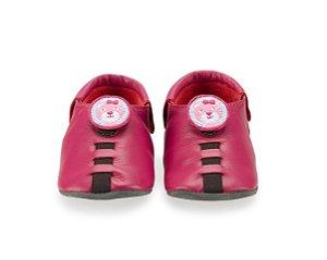 Sapatinho para Bebê Urso Rosa Pink 0 a 24 meses - Shupeas