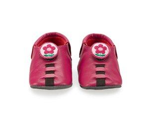 Sapatinho para Bebê Flower Rosa Pink 0 a 24 meses - Shupeas