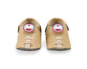 Sapatinho para Bebê Cupcake Bege 0 a 24 meses - Shupeas