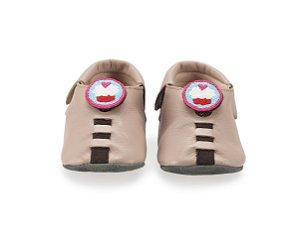 Sapatinho para Bebê Cupcake Rose 0 a 24 meses - Shupeas
