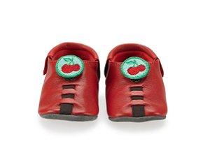 Sapatinho para Bebê Cherry Vermelho 0 a 24 meses - Shupeas