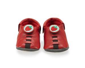 Sapatinho para Bebê Strawberry Vermelho 0 a 24 meses - Shupeas