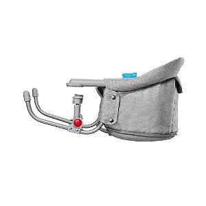 Cadeira de Alimentação de Encaixe em Mesa Click Cinza - Multikids