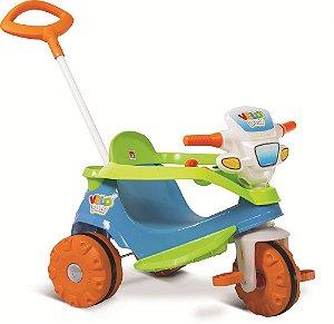 Triciclo Velobaby Passeio & Pedal - Bandeirante