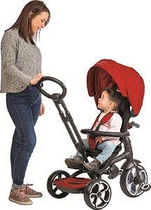Triciclo Smart Premium Reversível Vermelho - Bandeirante