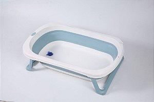 Banheira de Plástico Pequena Azul - Baby Pil