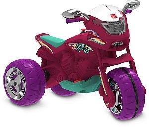 Super Moto GT Pink Elétrica 6V - Bandeirante