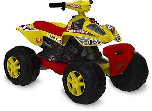 Quadriciclo Elétrico 12V Amarelo - Bandeirante