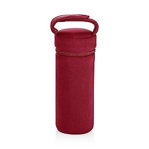 Porta Mamadeira Térmico com Alça Vermelho - Multikids