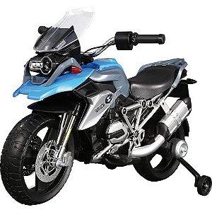 Moto BMW GS Elétrica Azul 12V - Bandeirante