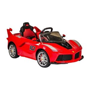 Carro Elétrico Ferrari Laferrari FXX Vermelha - Bandeirante