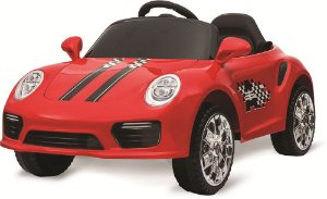Carro Elétrico Roadster Vermelho - Bandeirante