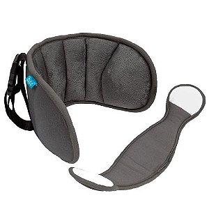 Apoio De Cabeça Para Assento De Carro Cinza Escuro- Buba