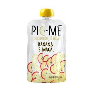 Purê de Frutas Banana e Maça 100g - Pic-Me