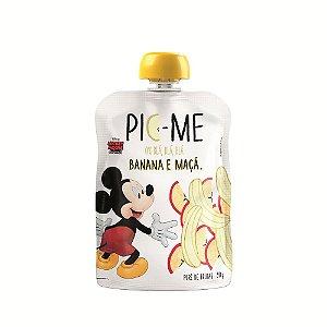 Purê de Frutas Disney Banana e Maça 90g - Pic-Me