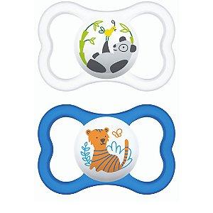 Chupeta Air Tigre e Panda 6m+ - Mam