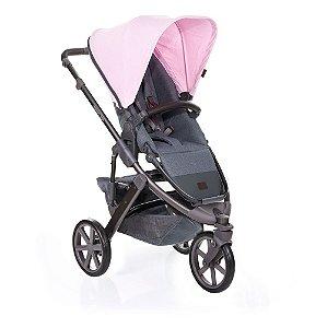 Carrinho de Bebê Travel System com Moisés Salsa 3 Rose ABC Design