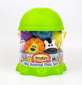 Brinquedo para Banho Amiguinhos da Fazenda e Selva - WinFun