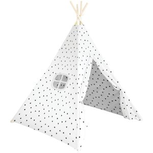 Cabana Triangular Branca - Buba