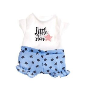 Roupinha Boneca Metoo Fashion Short e Blusa Little Star