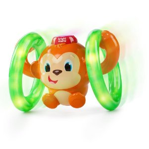 Brinquedo Roll & Glow Monkey - Bright Starts