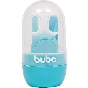 Kit Portátil Cuidados Baby com Estojo Azul - Buba