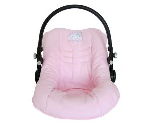 Capa para Bebê Conforto Nuvem Rosa - D'Bella for Baby