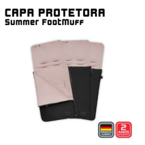 Capa Protetora Summer Footmuff Rose Gold - ABC Design