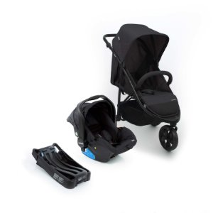 Travel System Collina Trio Black Style - Infanti