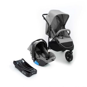 Travel System Collina Trio Grey Style - Infanti