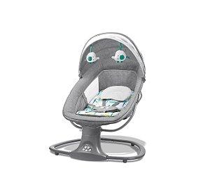 Cadeira Swing Automática com Bluetooth Verde Estampada - Mastela