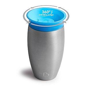 Copo Térmico Inox 360° Azul - Munchkin