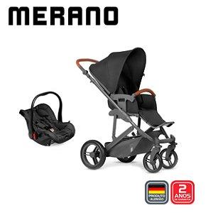 Carrinho de Bebê T System Merano Woven Black - ABC Design