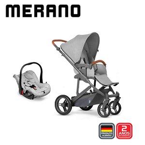 Carrinho de Bebê T System Merano Woven Grey - ABC Design