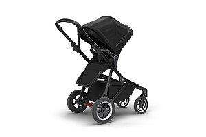 Carrinho de Bebê Gêmeos Sleek Black on Black - Thule