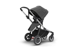 Carrinho de Bebê Gêmeos Sleek Shadow Grey - Thule